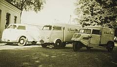 Fuhrpark im Jahr 1959