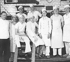 Mitarbeiter in den 50er Jahren
